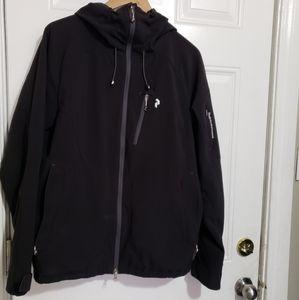 Peakperformence soft shell hoodie jacket